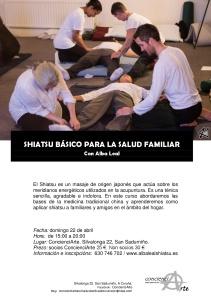 Shiatsu básico para la salud familiar 22.04.2018