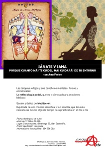 cartel SÁNATE Y SANA 03.06.2018