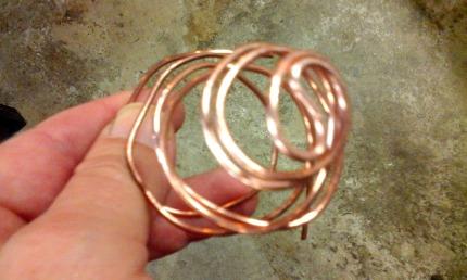 Espiral de cobre