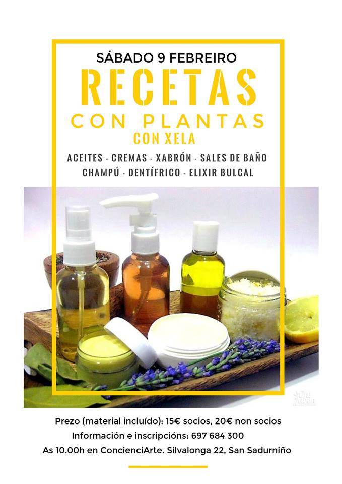 xela recetas con plantas 09.02.2019
